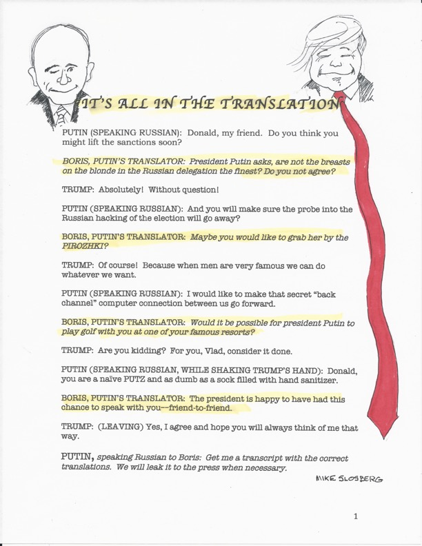 TRUMP-TRANSLATIONS